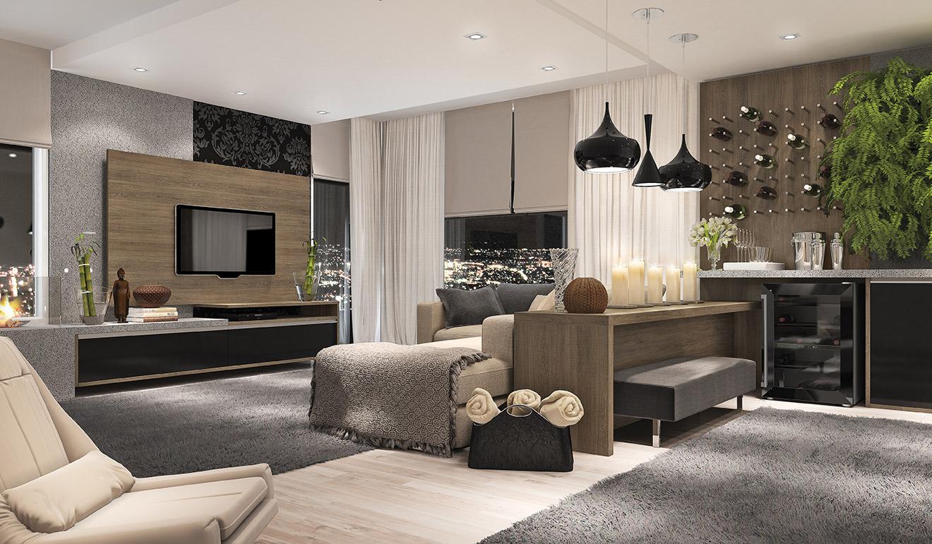 #50592B Sugestões de como decorar a sua sala de estar. Amagai Imóveis 1320x770 píxeis em Como Organizar Sua Sala De Estar Pequena