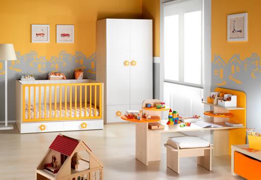 Quarto de bebê sugestões de cores para o ambiente  ~ Quarto Safari Moderno
