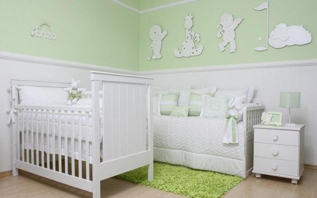 Quarto de bebê sugestões de cores para o ambiente  ~ Cores Para Quarto De Bebe Verde